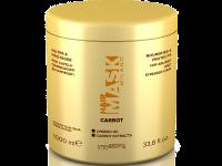 Маска за възстановяване на изтощени и боядисани коси с морков Carrot, 1000 мл - Imperity